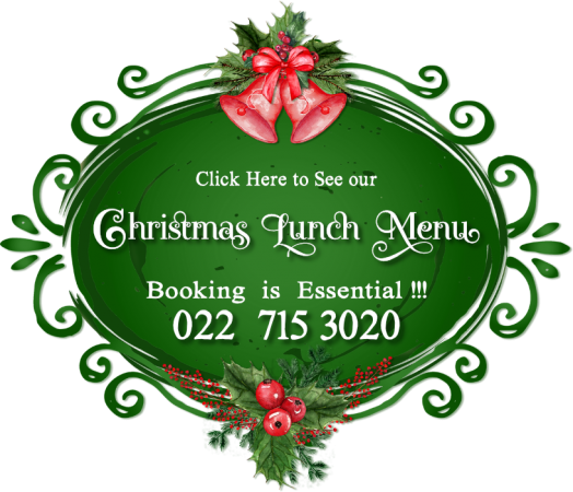 Read more about our delicious Xmas Lunch at Juffroushoogte