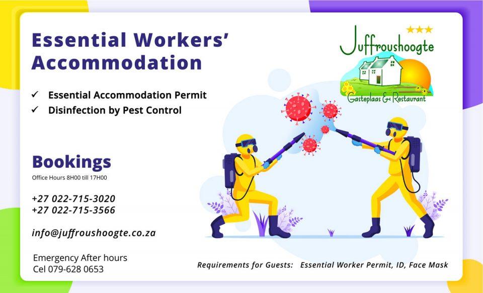 Essential-Accommodation-Corona Virus